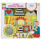 Alex Toys Wooden Whimsy Blocks