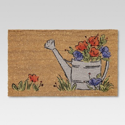"18""x30"" Outdoor Doormat - Watering Can - Threshold™"