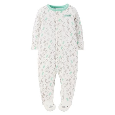 Just One You™ Made by Carter's® Sleep N Play Grey & Mint Ducks NB
