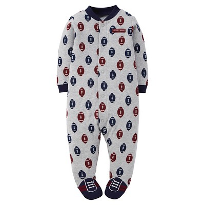 Just One You™ Made by Carter's® Sleep N Play Grey Football 3 M
