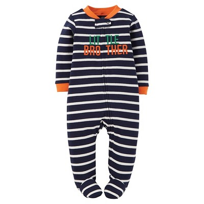 Just One You™ Made by Carter's® Sleep N Play Navy Little Brother NB