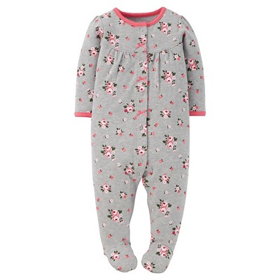 Just One You™ Made by Carter's® Sleep N Play Grey Floral NB