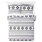 Printed Comforter - Full/Queen - Black&White - Xhilaration™