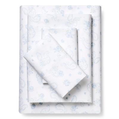 Paisley Sheet Set Blue (King) - Simply Shabby Chic™
