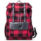 Men's Buffalo Check Backpack Red - Merona™