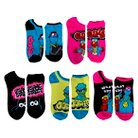Sesame Street™ Women's 5-Pack No Show Socks - Multi-Colored 9-11