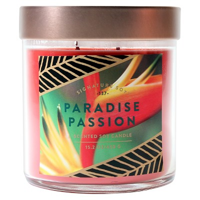Signature Soy 15.2oz Large Jar Paradise Passion