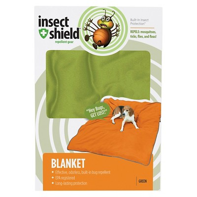 Insect Shield Dog Blanket - Fern (74Lx56W)
