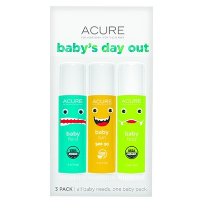 Acure Baby's Day Out 3-Pack