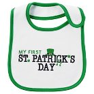 Just One You™ Made by Carter's®  St. Patrick's Day Baby Bib - Green