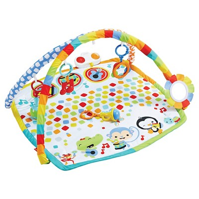 Fisher-Price® Baby Animal/Geometric Print Activity Gym Multicolored