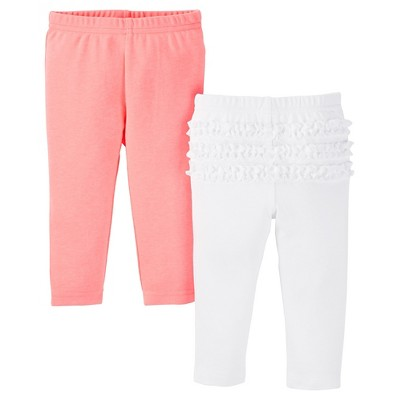 Just One You™ Made by Carter's®  Baby Girls' 2-Pack Legging Pant - Pink NB