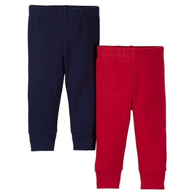 Just One You™ Made by Carter's® Baby Boys' 2-Pack Jogger Pant - Red 3 M