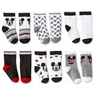 Toddler Boys' Mickey Mouse 6-Pack Casual Socks - Multi-Colored 6-9 M