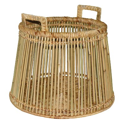 Threshold Rattan Basket