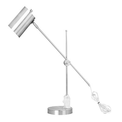 Threshold Silver Task Lamp w/ Cylinder Shade