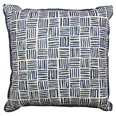 Threshold™ Watercolor Mazes Print Pillow