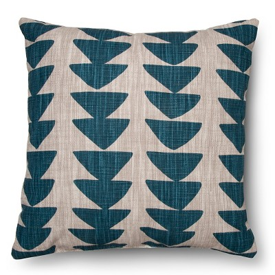 Threshold 18  Printed Uneven Triangle Decorative Pillow