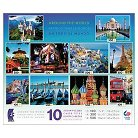 Around The World Multipack Puzzle