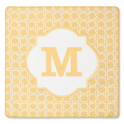 Monogram M Pillow Cover – Threshold™