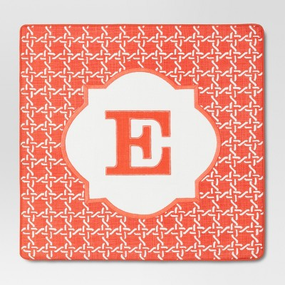 Monogram E Pillow Cover – Threshold™