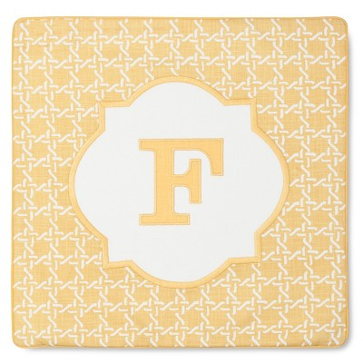 Monogram F Pillow Cover – Threshold™