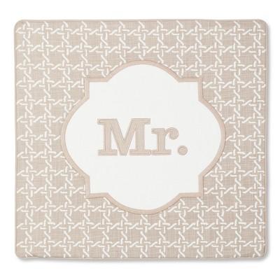 Monogram Mr Pillow Cover – Threshold™
