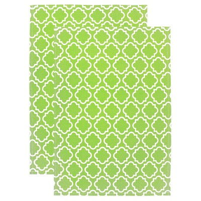 Designer Print Kitchen Towel - Set of 2