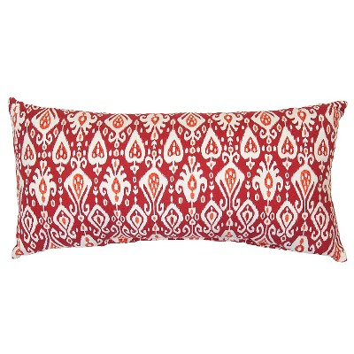 Outdoor Pillow - Red Ikat - Threshold™