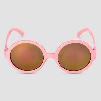 Girls' Round Sunglasses Moxie Peach - Circo™