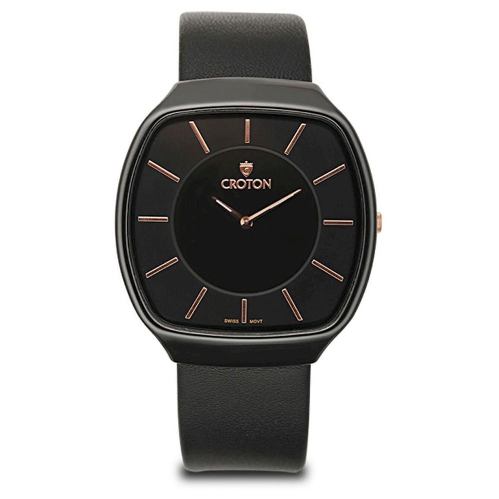 Men's Croton Stainless Steel Watch - Multicolor, Black