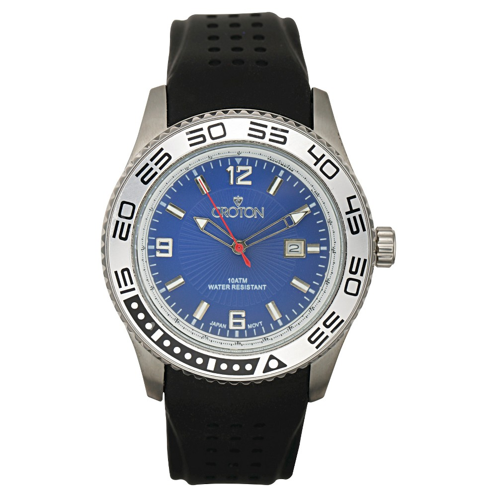 Men's Croton Stainless Steel Watch - Multicolor, Multi-Colored