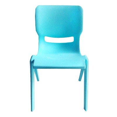Circo™ Kids Plastic Stack Chair Turquoise