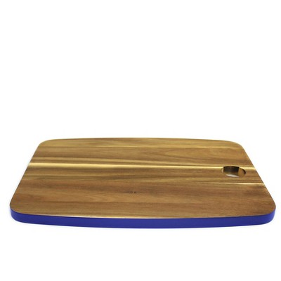 Rectangle Cutting Board Blue - Threshold™