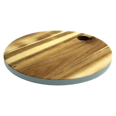 Round Cutting Board Muddy Aqua - Threshold™