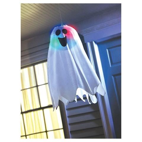 "Halloween Light Up Hanging Ghost 18"""