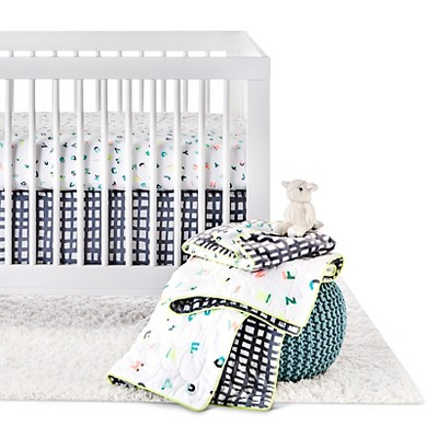 Oh Joy!® 4pc Crib Bedding Set - ABC
