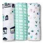 Oh Joy!® 3pk Muslin Swaddle Blanket - ABC/City
