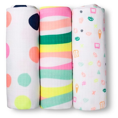 Swaddle Blanket Oh Joy! Multi-colored