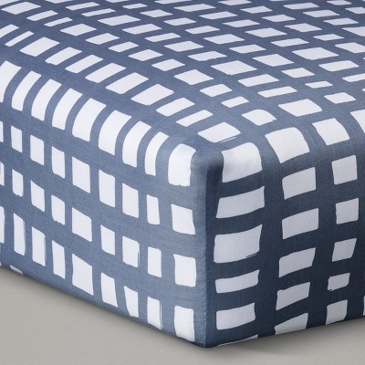 Baby Fitted Sheet Oh Joy! Grey White