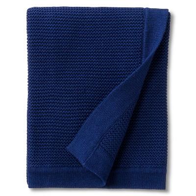 Circo™ Chunky Knit Baby Blanket - Navy