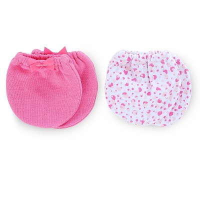 Just One You™ Made by Carter's® Baby Girls' 2-Pack Mittens - Pink OSFM