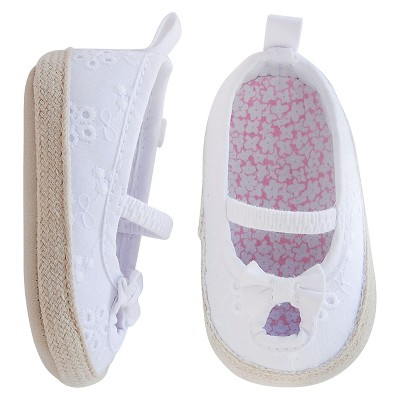 Just One You™Made by Carter's® Baby Girls' Eyelet Espadrille - White Size 2