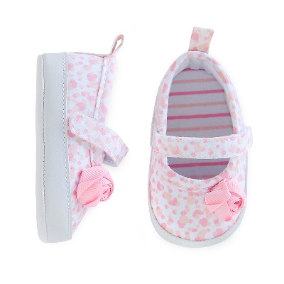 Just One You™Made by Carter's® Baby Girls' Mary Jane Skimmer - Pink/White Newborn