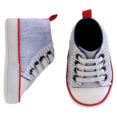 Just One You™ Made by Carter's® Baby Boys' Midtop Sneaker - Grey 3-6M