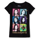 Girls' Princess BELIEVE IN YOURSELF T-Shirt Black M