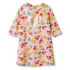 Girls' Floral Shift Dress - Pink S - Cherokee®