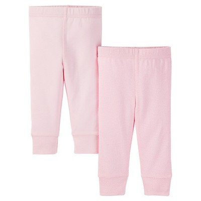 Just One You™ Made by Carter's® Baby Girls' 2-Pack Legging Pant - Pink 3 M