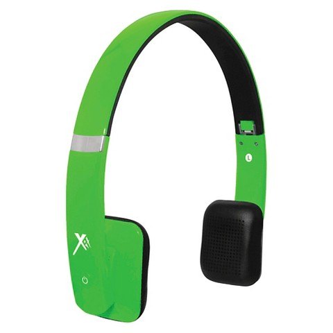 xit bluetooth sound hue headphones green hpxi target. Black Bedroom Furniture Sets. Home Design Ideas
