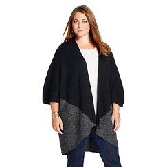Women's Plus Size Open Cardigan - Merona™